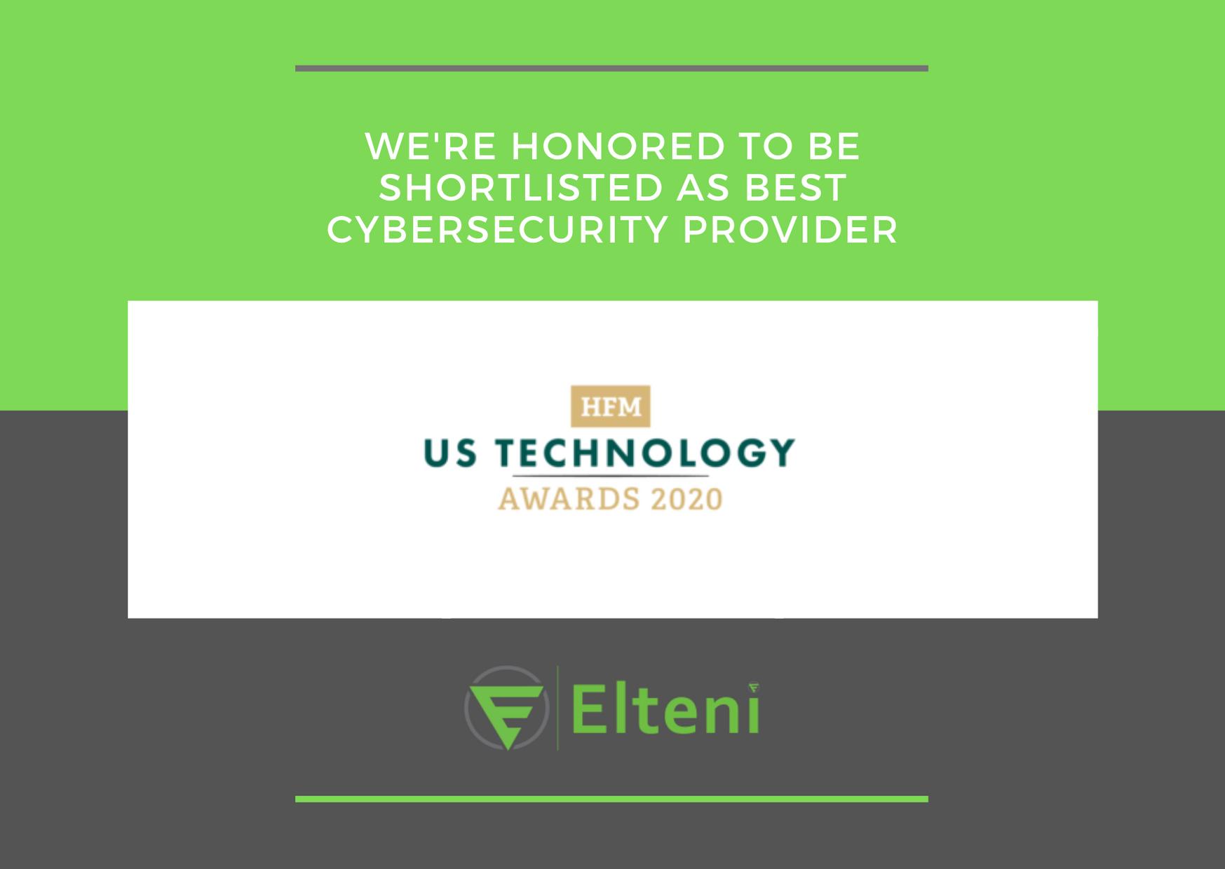 HFM US 2020 Awards - Elteni (Hedge Fund Service Provider Award)