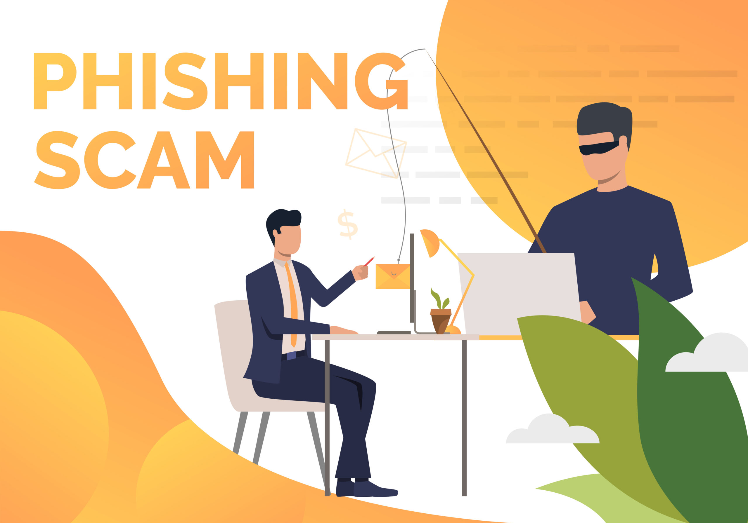 Phishing scam private equity