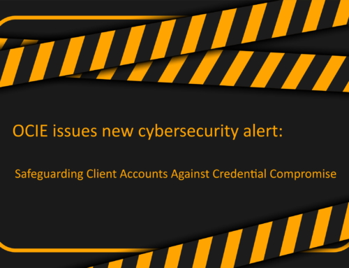 "OCIE issues a new alert: ""Credential Stuffing"""